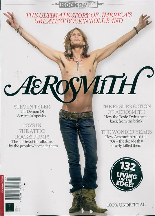 Classic Rock Platinum Series Magazine Issue NO 11 Aerosmith Special Issue