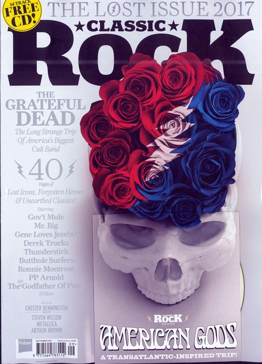 Classic Rock Magazine September 2017 Chester Bennington Metallica The Grateful Dead