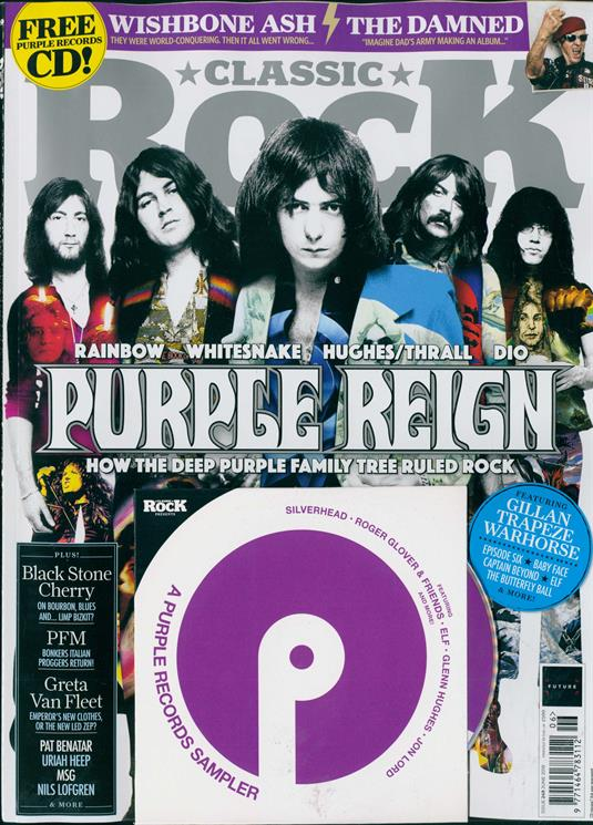 UK Classic Rock Magazine JUNE 2018: DEEP PURPLE Rainbow WHITESNAKE Michael Schenker