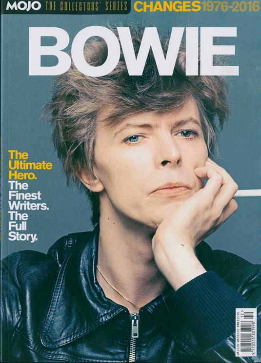Collector's Series magazine Mojo: David Bowie Changes 1976-2018. Ultimate Hero