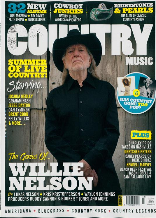 Country Music Magazine AUG-SEP 2018: WILLIE NELSON COVER STORY