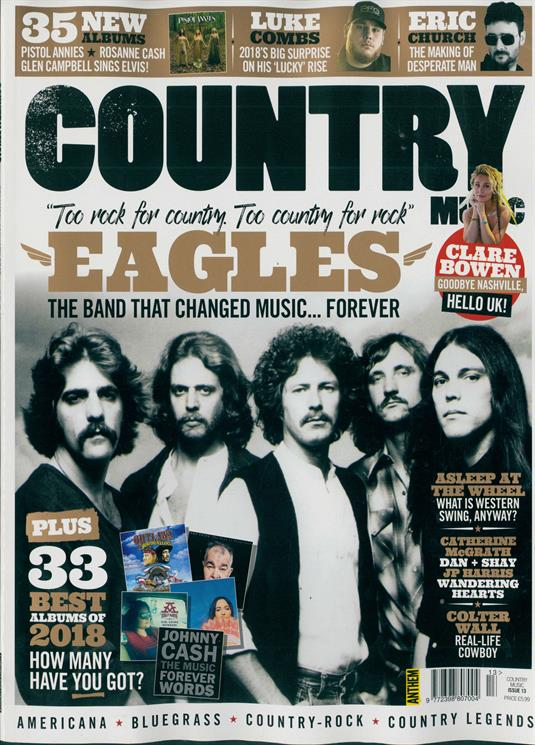 Country Music Magazine Dec 2018 The Eagles The Band That Changed