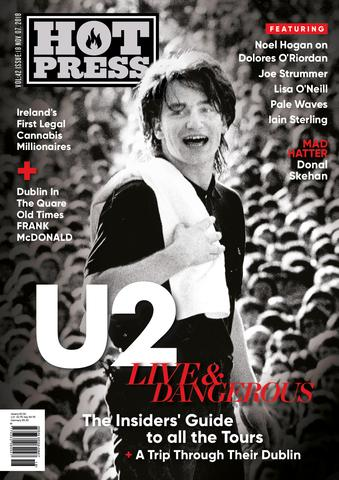 HOT PRESS Magazine 42-18: U2 BONO COVER ISSUE