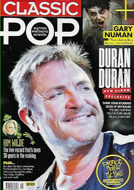 Classic Pop Magazine #56 (September 2019) DURAN DURAN EXCLUSIVE - SIMON LE BON