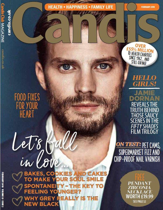 UK Candis Magazine February 2018 Jamie Dornan Cover Interview