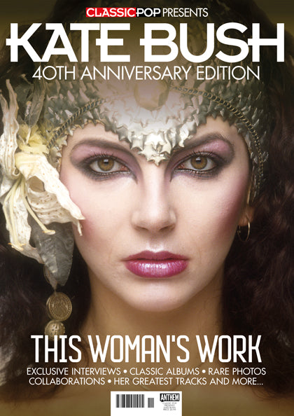CLASSIC POP PRESENTS magazine Feb 2018 - KATE BUSH 40th anniversary *132 pages*