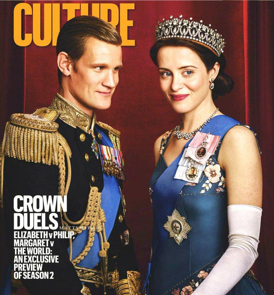 Culture Magazine with Matt Smith & Claire Foy on the cover