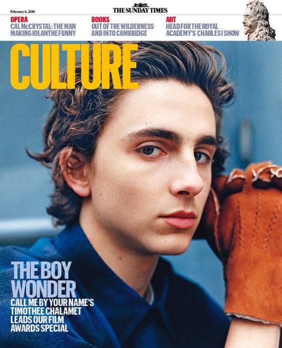 UK Culture Magazine FEB 2018: TIMOTHEE CHALAMET COVER & INTERVIEW