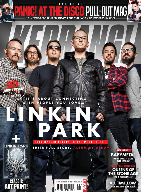 KERRANG! magazine July 2019: Linkin Park - 20th Anniversary - Chester Bennington