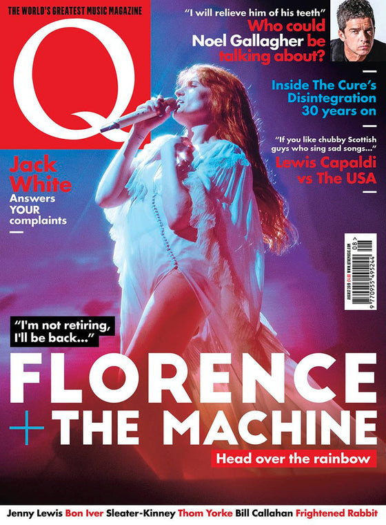 FLORENCE WELCH AND THE MACHINE UK Q MAGAZINE AUGUST 2019