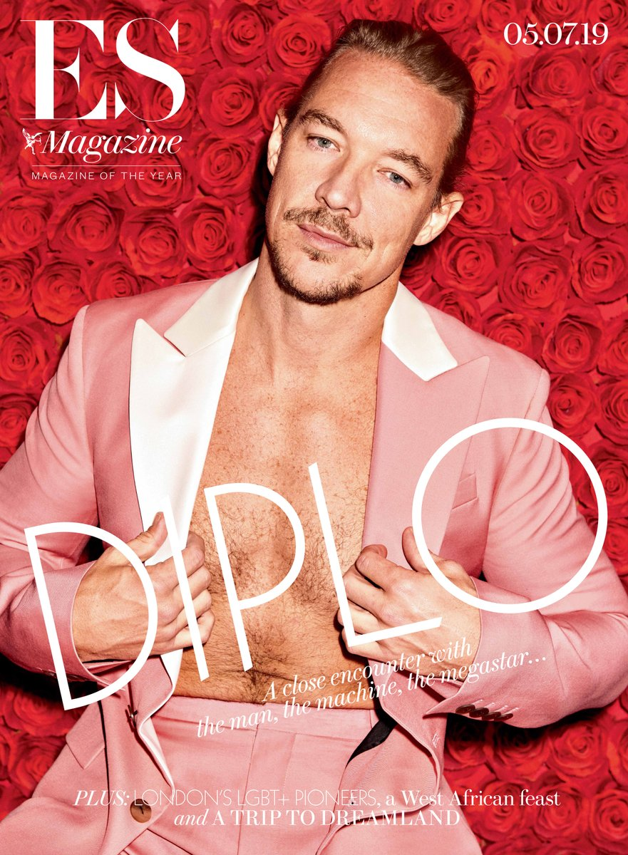 DIPLO COVER STORY ES LONDON MAGAZINE July 5th 2019