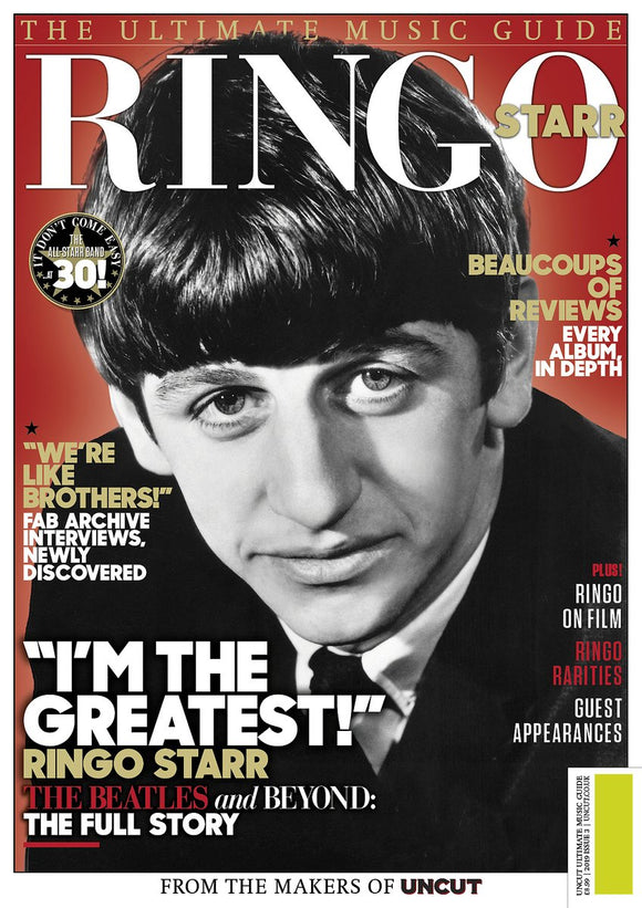 RINGO STARR (The Beatles) - UNCUT ULTIMATE MUSIC GUIDE MAGAZINE JULY 2019