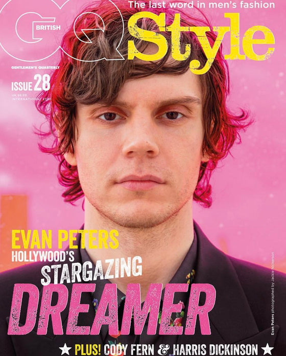 BRITISH UK GQ STYLE Magazine S/S 2019: Evan Peters Cody Fern Harris Dickinson