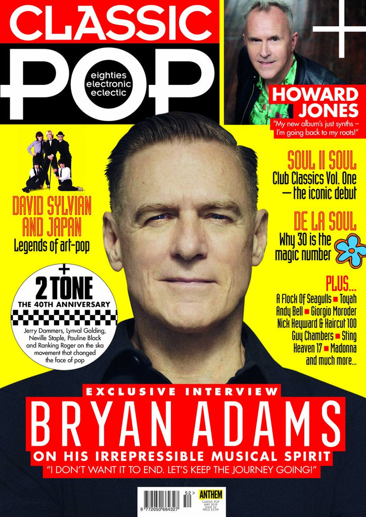 UK CLASSIC POP magazine June 2019: Bryan Adams Howard Jones David Sylvian Japan