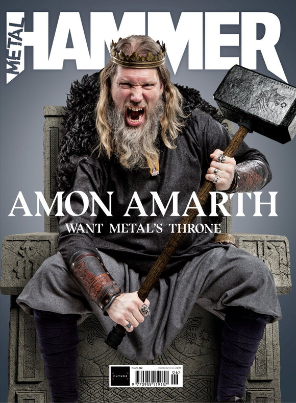 Metal Hammer Magazine June 2019: AMON AMARTH COVER AND FEATURE