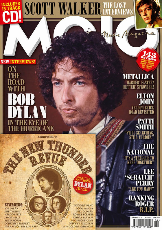 MOJO Magazine #307 – June 2019: Bob Dylan Scott Walker Elton John Patti Smith