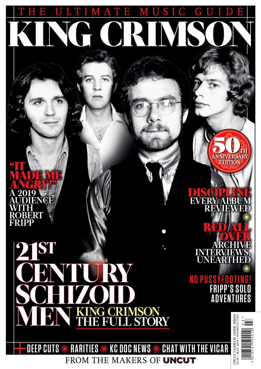 UNCUT ULTIMATE MUSIC GUIDE magazine May 2019 - King Crimson