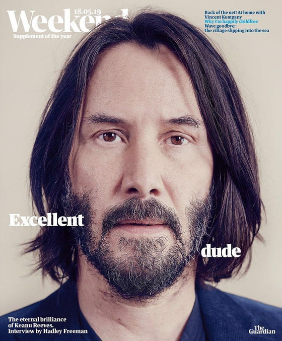 Guardian Weekend Magazine 18th May 2019: Keanu Reeves Cover And Interview