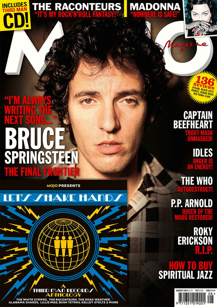MOJO magazine August 2019 #309 Bruce Springsteen Madonna The Raconteurs