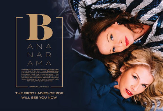 Women in Pop Magazine Issue 6: THE BANANARAMA interview