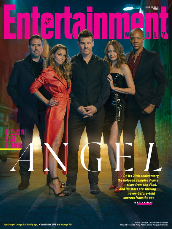 DAVID BOREANAZ - ANGEL EXCLUSIVE REUNION ENTERTAINMENT WEEKLY JUNE 30 2019