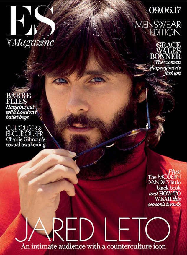 30 Seconds To Mars JARED LETO Photo Cover interview ES MAGAZINE June 2017