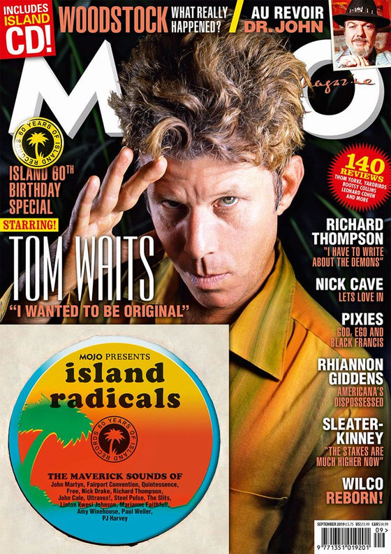 MOJO magazine September 2019: TOM WAITS COVER AND FEATURE + FREE CD