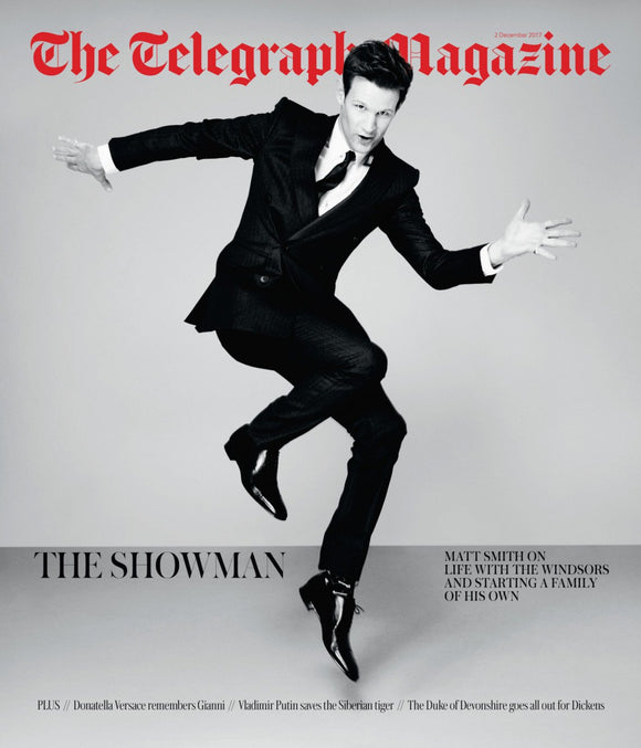 Telegraph Magazine 2nd December 2017 Matt Smith - The Crown Cover Interview
