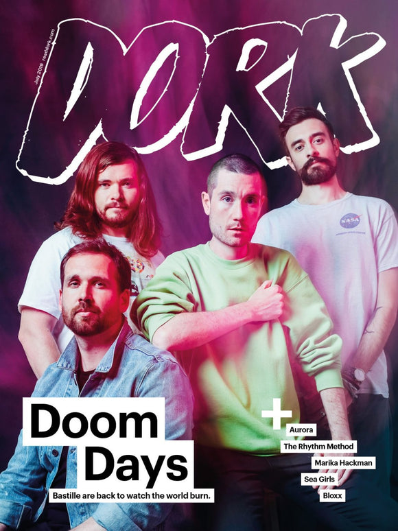 Bastille (Dan Smith) – Dork magazine – July 2019