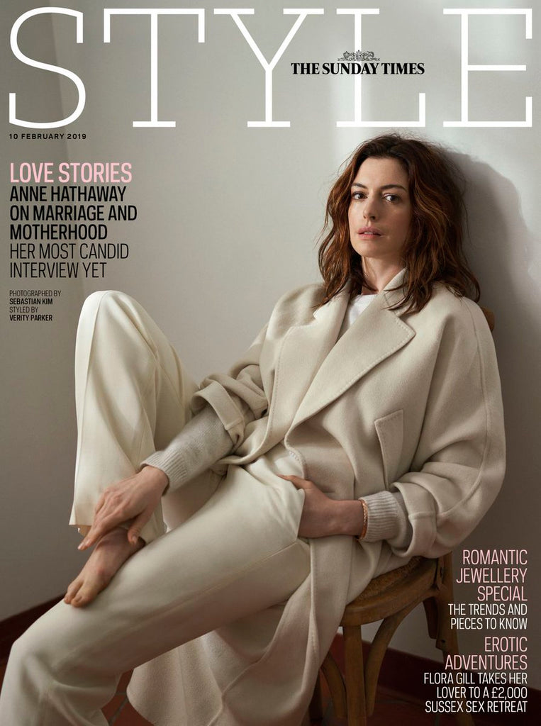 UK STYLE Magazine FEB 2018: ANNE HATHAWAY PHOTO COVER STORY