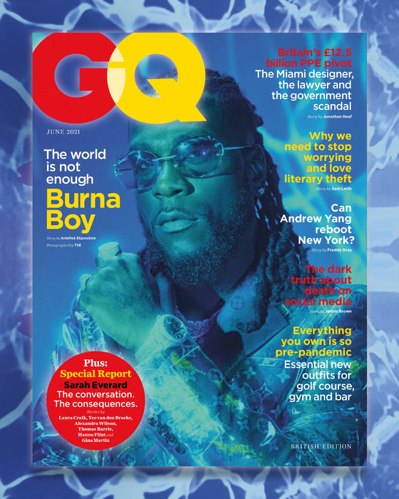 British GQ Magazine June 2021: BURNA BOY COVER FEATURE