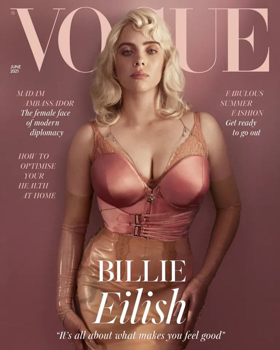 British Vogue June 2021 Billie Eilish Cover