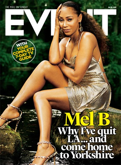 UK EVENT Magazine August 4th 2019: Mel B (The Spice Girls) Exclusive Interview - Bruce Springsteen