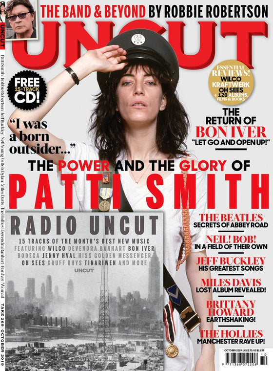UK UNCUT magazine October 2019: PATTI SMITH Jeff Buckley THE BEATLES