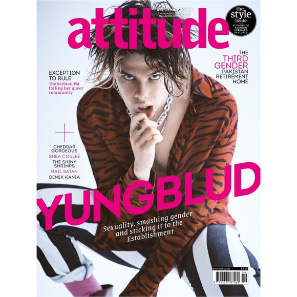 UK ATTITUDE magazine September 2019 Yungblud cover & interview