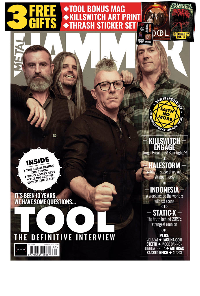 UK Metal Hammer Magazine #326: Tool - The Definitive Interview + 16 page Bonus Mag