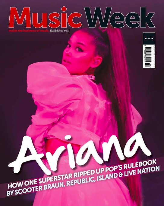 UK Music Week Magazine August 2019 ARIANA GRANDE COVER AND FEATURE