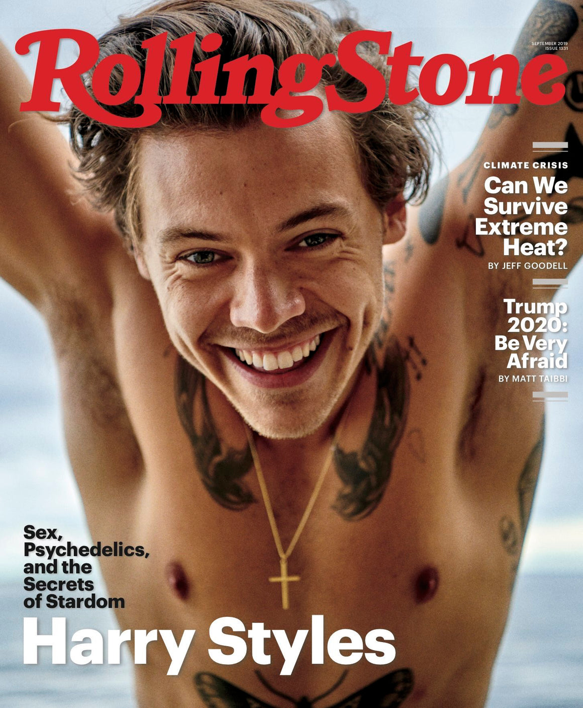 US ROLLING STONE MAGAZINE SEPTEMBER 2019: HARRY STYLES COVER EDITION ONE DIRECTION