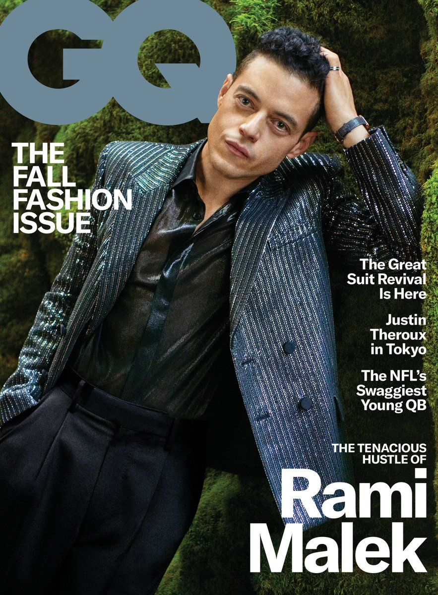 US GQ Magazine September 2019: RAMI MALEK COVER STORY