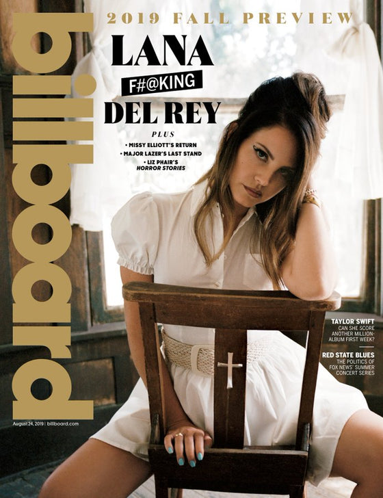 LANA DEL REY - BILLBOARD MAGAZINE - AUGUST 2019