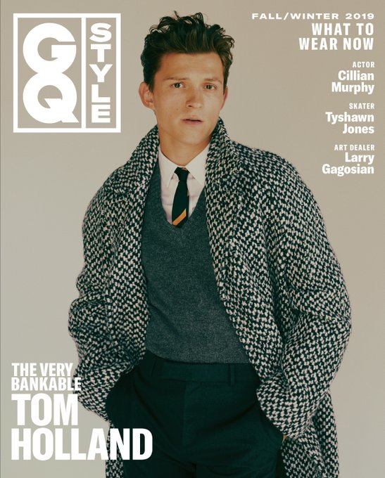 US GQ STYLE Fall 2019: TOM HOLLAND COVER AND FEATURE (PRE-ORDER)