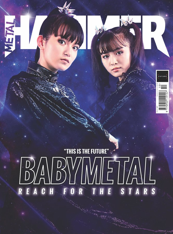 METAL HAMMER #327 October 2019 BABYMETAL + Free Poster & Badge
