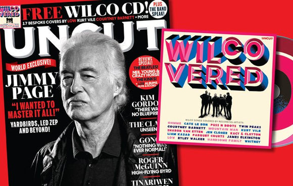 UNCUT magazine November 2019 Jimmy Page (Led Zeppelin) + Free Wilco covers CD
