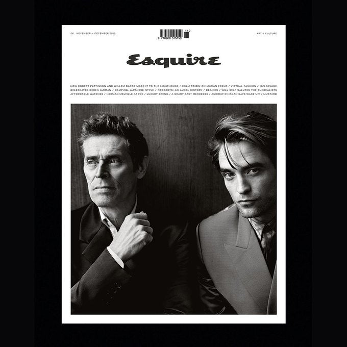 UK Esquire Magazine November 2019: ROBERT PATTINSON COVER FEATURE