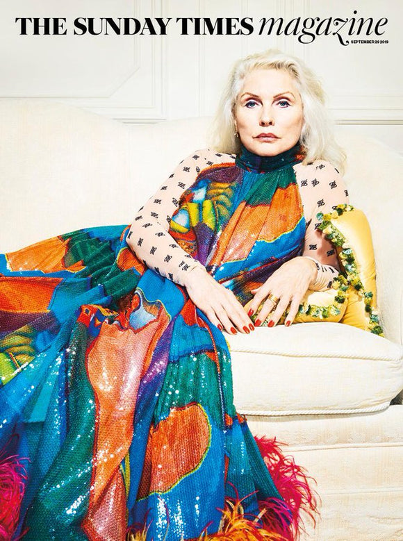 SUNDAY TIMES magazine 29 September 2019 Blondie (Debbie Harry) cover and interview