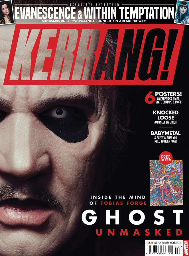 Kerrang! Magazine 1793 5th October 2019 Ghost UnMasked! - BABYMETAL