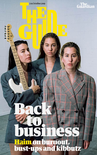 GUIDE magazine 5 October 2019: HAIM COVER AND FEATURE