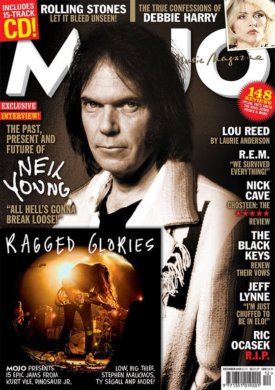 MOJO magazine December 2019 Neil Young Rolling Stone Debbie Harry & Free CD