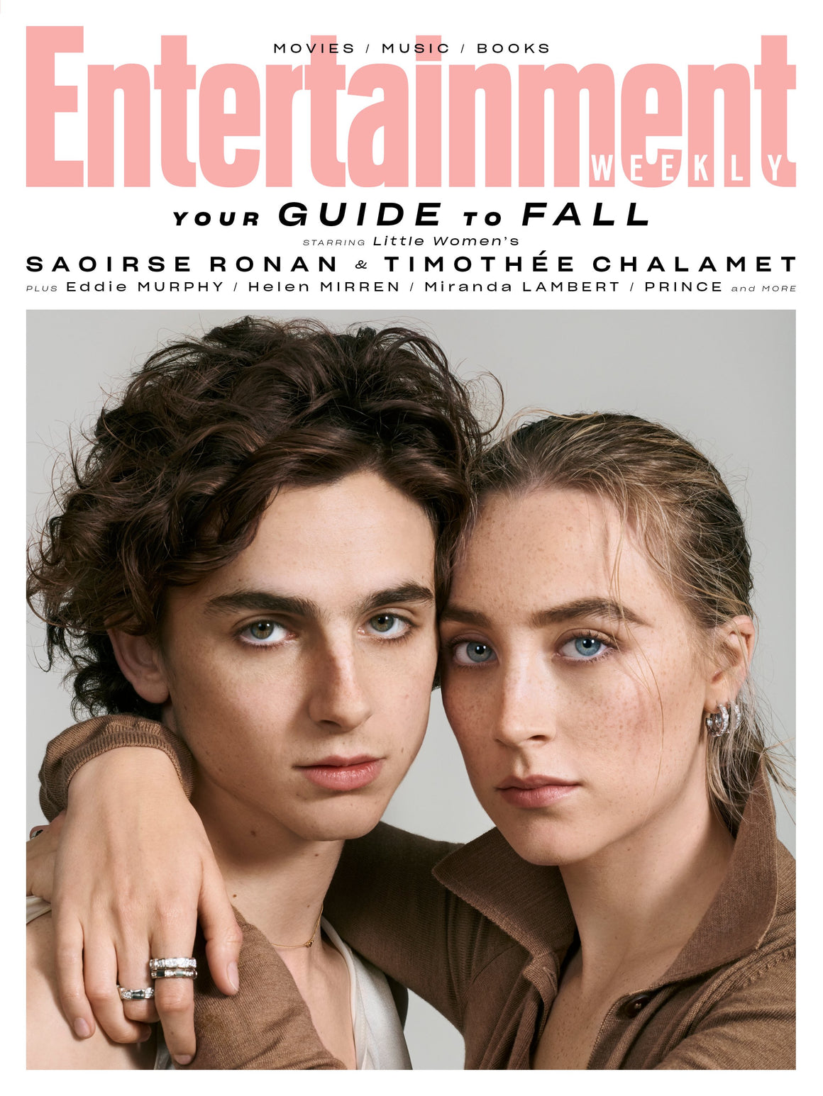 US ENTERTAINMENT WEEKLY MAGAZINE NOVEMBER 2019: TIMOTHEE CHALAMET LITTLE WOMEN