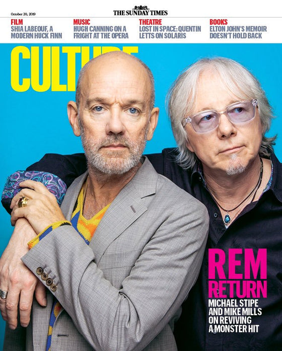 CULTURE magazine 20 October 2019: REM (Michael Stipe) COVER FEATURE
